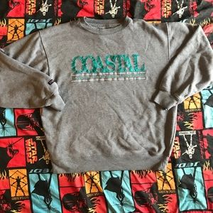 90s Eastern Carolina University Crewneck Sweater